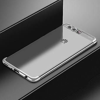 Cell phone cover case for Huawei P20 per transparent transparent silver