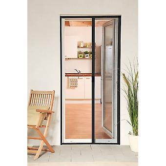 Aluminiowe drzwi rolety zestaw 160 x 220 cm muchy ochrona owadów w antracyt