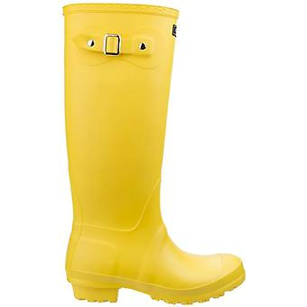 Cotswold Sandringham Womenfts Yellow Wellington Boots