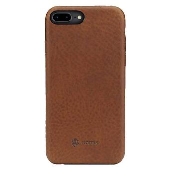 Nodus Shell II iPhone 7/8 Plus Case and Micro Dock III - Chestnut Brown