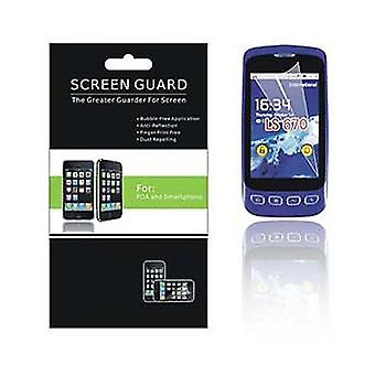 CellPak - Anti Smudge Screen Protector for LG Optimus S LS670 - Clear