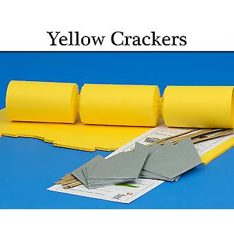 Yellow Make & Fill Your Own Cracker Making Craft Kits, Boards & Accessories