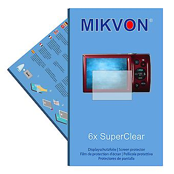 Canon Digital IXUS 200 IS screen protector- Mikvon films SuperClear