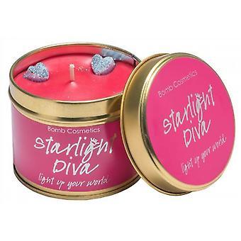 Bomb Cosmetics Kerze Zinn Starlight Diva