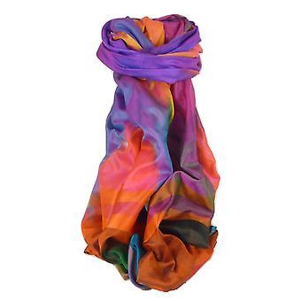 Varanasi Ekal premie silke skjerf Heritage langtrekkende Jindal 9 av Pashmina & Silk