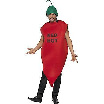Chili Pepper Kostüm, Red Hot.  Brust 38