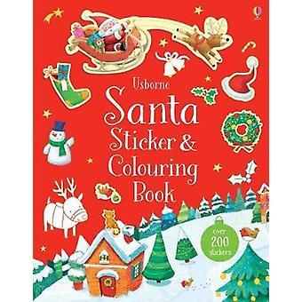 Santa naklejki i kolorowanka przez Sam Taplin - 9781474932820 książki