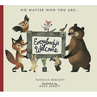Tout le monde est le bienvenu par tout le monde bienvenue - livre 9781848577459