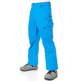 Oakley Electric Blue Snow Shell 10K 2 Layer Snowboarding Pants