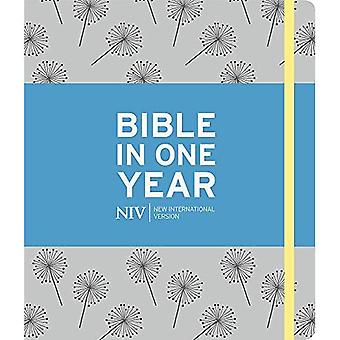 NIV Journalling Bible in One Year: Grey