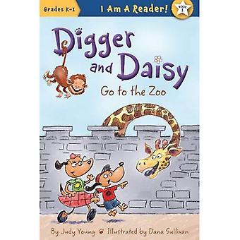 Digger et Daisy allez au Zoo (je suis un lecteur!)