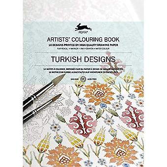Turkish Designs: Artists' Colouring Book (Artists' Colouring Books)