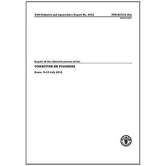 Verslag van de dertigste zitting van de Commissie visserij-Rome, 9-13 juli 2012