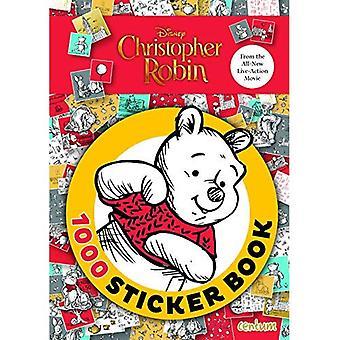 Christopher Robin Move 1000� Sticker Book