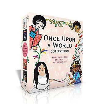 Once Upon a World Collection: Snow White; Cinderella; Rapunzel; The Princess and the Pea (Once� Upon a World) [Board book]