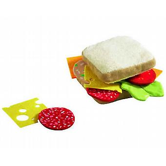 HABA Play Food Sandwich  Fabric  Wooden Toy