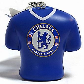 Chelsea FC chunky PVC stress relief keyring keyring (bb)
