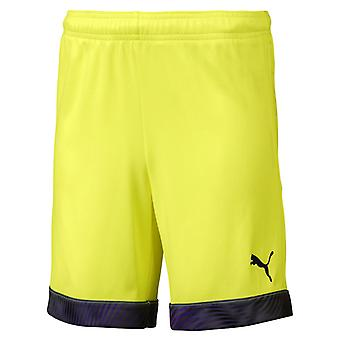 PUMA CUP s Jr kids of shorts yellow black