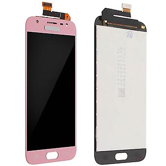 LCD Display for GalaxyJ32017 Full rose gold Compatible Touchscreen Pack