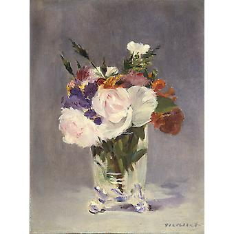 Roses,Edouard Manet,50x37cm