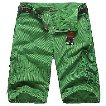 Allthemen Men's Fashion Multi-Pocket Summer Short Pants