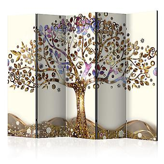 Artgeist Paravento Golden Tree Ii Room Dividers (Decorazione , Separé)
