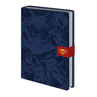 DC Comics Superman Logo A5 Premium Hardback Notebook