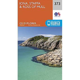 Iona - Staffa and Ross of Mull by Ordnance Survey - 9780319246207 Book