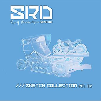 Srd Sketch Collection Vol. 02 by Scott Robertson - 9781624650376 Book