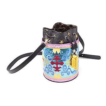 Disney Aladdin Magic Carped Glitter Drawstring Bucket Bag (LB223532ALD)