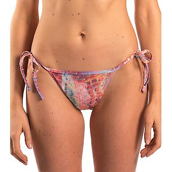 Kiniki Siena Tan Through Tie Side Tanga
