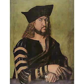 Elector Frederick the Wise,Albrecht Durer,50x38cm