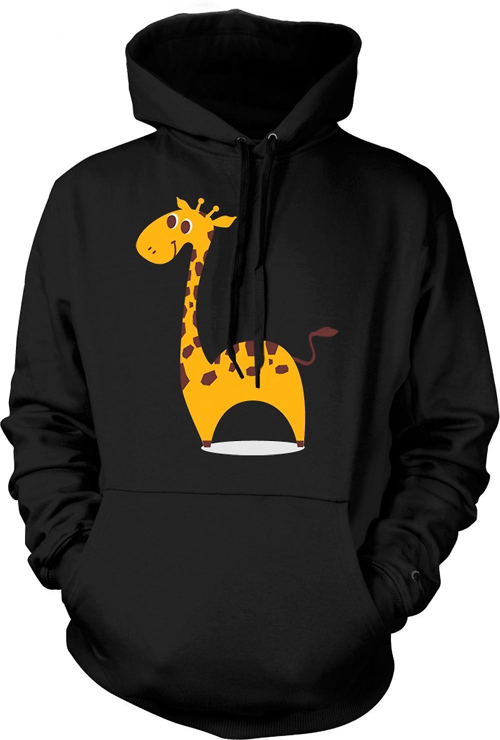 Mens Hoodie - I Love Giraffes - Cute Animal
