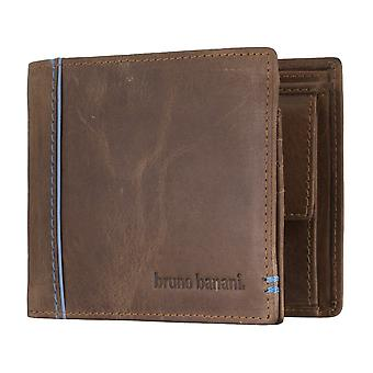 Bruno banani mens wallet portefeuille purse Cognac/bleu 4895