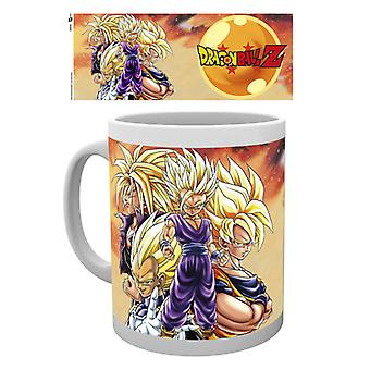 Dragonball Z Super Saiyans eske drikke krus