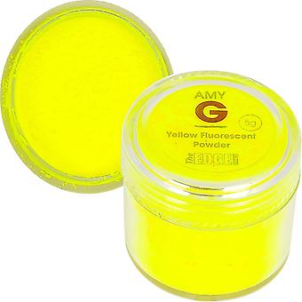 The Edge Nails Amy G - Fluorescent Nail Powders - 5g Yellow (3003011)