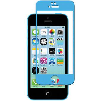 Moshi iVisor Glass Screen Protector for iPhone 5/5s/5c/SE - Blue