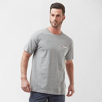 New Berghaus Men's Logo T-Shirt Grey