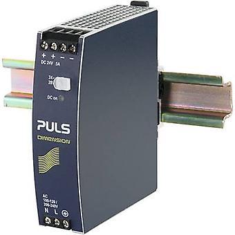PULS DIMENSION CS5.241 Rail mounted PSU (DIN) 24 Vdc 5 A 120 W 1 x