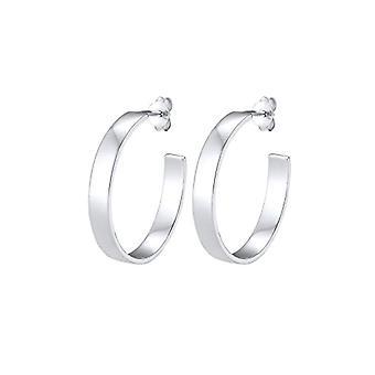 Elli Silver Women's Hoop Earrings 302991218