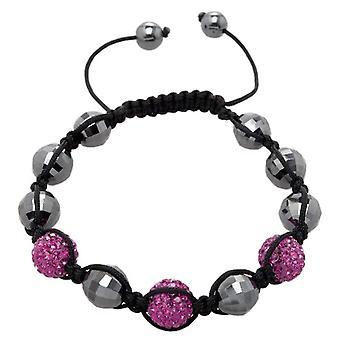Carlo Monti JCM1155-592 - Women's bracelet with hematite - Fabric