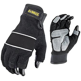 Dewalt Mens DPG214L Performance 3 Finger Double Palm Gloves