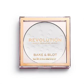 Makeup Revolution Bake & Blot - White