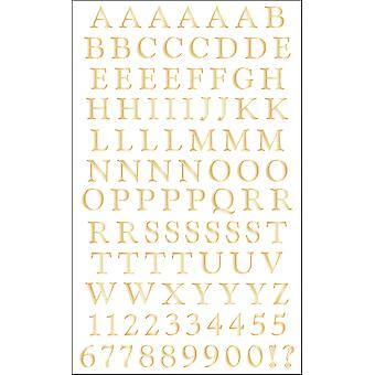 Stickers Alphabet classique de Mme Grossman or Mg399 19483