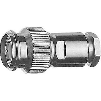 TNC connector Plug, straight 50 Ω Telegärtner J01010A2611 1 pc(s)