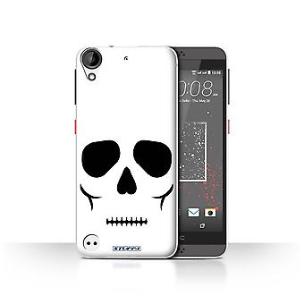 STUFF4 Case/Cover for HTC Desire 630/Skull/Halloween Character
