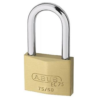 ABUS Extra-Classe Brass lock with safety key 75 / 50Hb50 Ka7561 (DIY , Hardware)