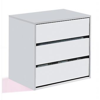 Bricohabitat Arc Drawer 60X57X44 Cm 60 3C White (Casa , Camera Da Letto , Cassettiera)