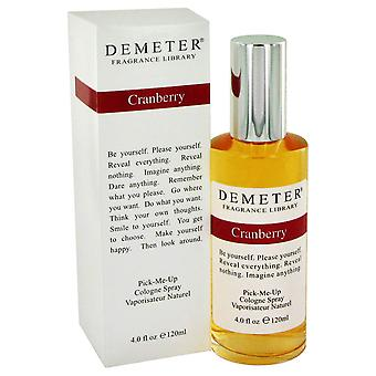 Cranberry By Demeter Pick Me Up Cologne Spray 120ml