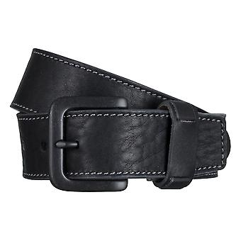 SAKLANI & FRIESE belts men's belts leather belt black 5018